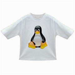 CRYSTAL LINUX TUX PENGUIN  Baby T-shirt