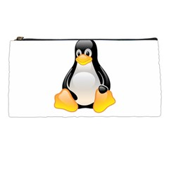 Crystal Linux Tux Penguin  Pencil Case