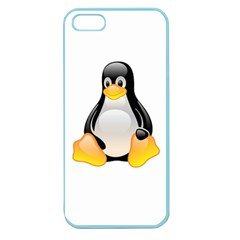 CRYSTAL LINUX TUX PENGUIN  Apple Seamless iPhone 5 Case (Color)
