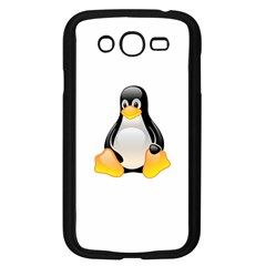 Crystal Linux Tux Penguin  Samsung Galaxy Grand Duos I9082 Case (black)