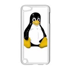 LINUX TUX CONTRA SIT Apple iPod Touch 5 Case (White)