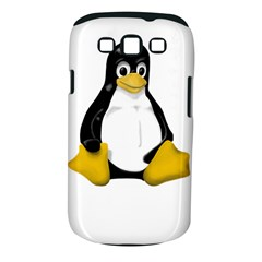 LINUX TUX CONTRA SIT Samsung Galaxy S III Classic Hardshell Case (PC+Silicone)