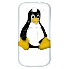 Linux Tux Contra Sit Samsung Galaxy S3 S Iii Classic Hardshell Back Case