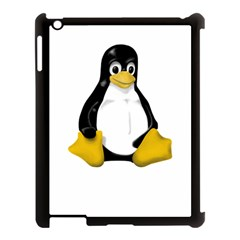 LINUX TUX CONTRA SIT Apple iPad 3/4 Case (Black)