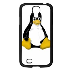 Linux Tux Contra Sit Samsung Galaxy S4 I9500/ I9505 Case (black)