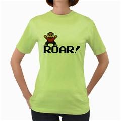 Roar Womens  T-shirt (Green)