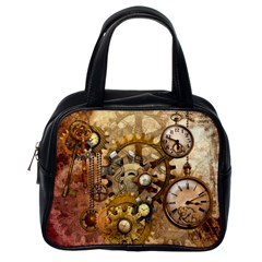 Steampunk Classic Handbag (One Side)