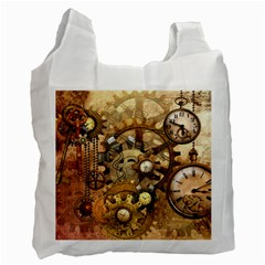 Steampunk Recycle Bag (One Side)