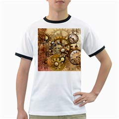 Steampunk Mens' Ringer T-shirt