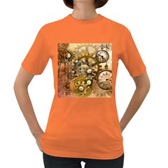 Steampunk Womens' T-shirt (Colored)