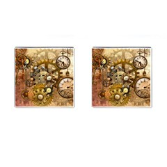 Steampunk Cufflinks (Square)