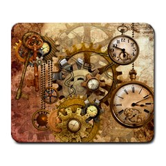 Steampunk Large Mouse Pad (Rectangle)