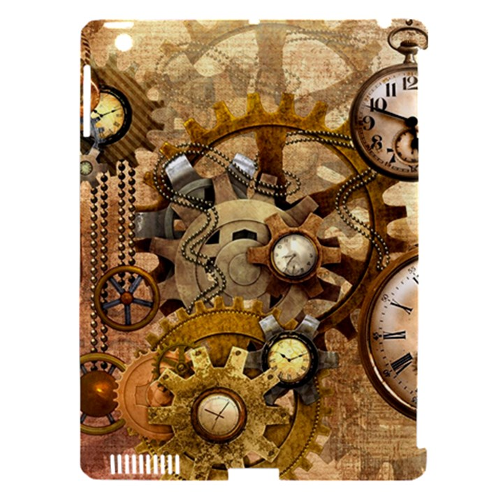 Steampunk Apple iPad 3/4 Hardshell Case (Compatible with Smart Cover)