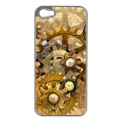 Steampunk Apple iPhone 5 Case (Silver)