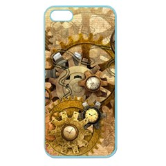 Steampunk Apple Seamless Iphone 5 Case (color)