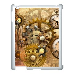 Steampunk Apple iPad 3/4 Case (White)