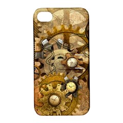 Steampunk Apple iPhone 4/4S Hardshell Case with Stand