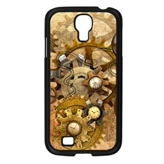 Steampunk Samsung Galaxy S4 I9500/ I9505 Case (Black)