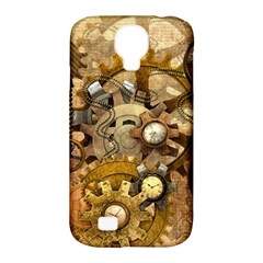 Steampunk Samsung Galaxy S4 Classic Hardshell Case (pc+silicone)