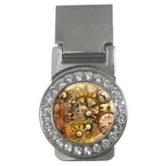 Steampunk Money Clip (CZ)