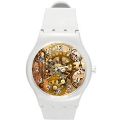 Steampunk Plastic Sport Watch (Medium)