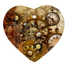 Steampunk Heart Ornament