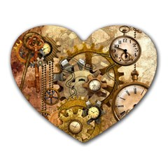 Steampunk Mouse Pad (Heart)