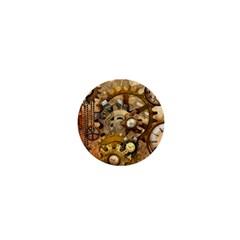 Steampunk 1  Mini Button