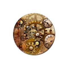 Steampunk Drink Coasters 4 Pack (Round)