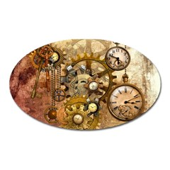 Steampunk Magnet (Oval)