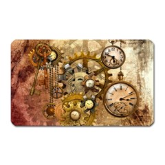Steampunk Magnet (Rectangular)
