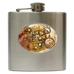 Steampunk Hip Flask