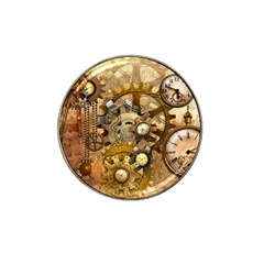 Steampunk Golf Ball Marker 4 Pack (for Hat Clip)