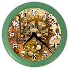 Steampunk Wall Clock (color)