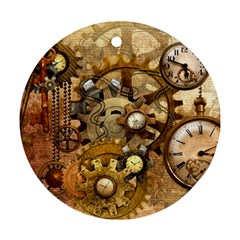 Steampunk Round Ornament