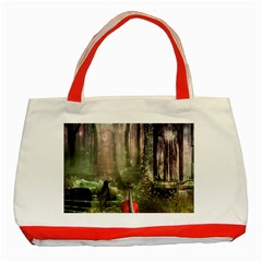 last song Classic Tote Bag (Red)