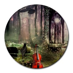 Last Song 8  Mouse Pad (round)