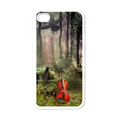 last song Apple iPhone 4 Case (White)