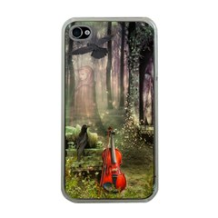 last song Apple iPhone 4 Case (Clear)
