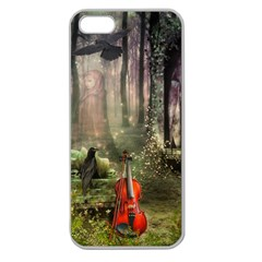 last song Apple Seamless iPhone 5 Case (Clear)