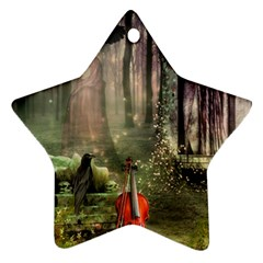 Last Song Star Ornament (Two Sides)