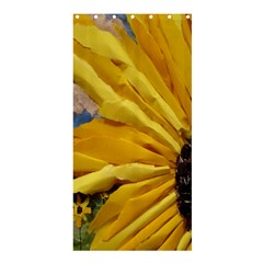 3d Sunflower Design Shower Curtain 36  X 72  (stall)