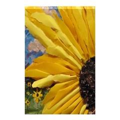 3d Sunflower Design Shower Curtain 48  X 72  (small)