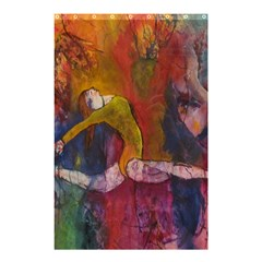 Colorful Dancer Gymnast  Shower Curtain 48  X 72  (small)
