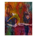 Colorful Dancer-Gymnast  Shower Curtain 60  x 72  (Medium) 54.25 x65.71 Curtain