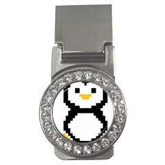 Pixel Linux Tux Penguin Money Clip (CZ)