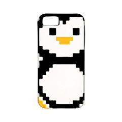 Pixel Linux Tux Penguin Apple iPhone 5 Classic Hardshell Case (PC+Silicone)