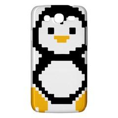 Pixel Linux Tux Penguin Samsung Galaxy Mega 5 8 I9152 Hardshell Case