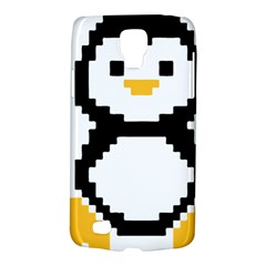 Pixel Linux Tux Penguin Samsung Galaxy S4 Active (I9295) Hardshell Case