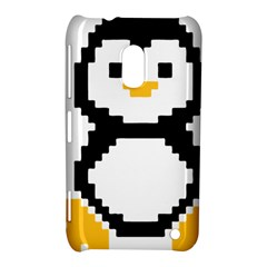 Pixel Linux Tux Penguin Nokia Lumia 620 Hardshell Case